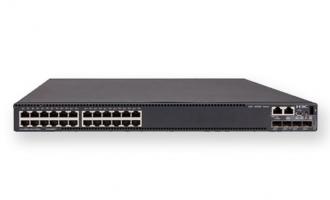 H3C S5560-30C-EI交换机(L3以太网交换机主机,支持24个10/100/1000BASE-T端口,支持4个10G/1G BASE-X SFP+端口,支持1个Slot)
