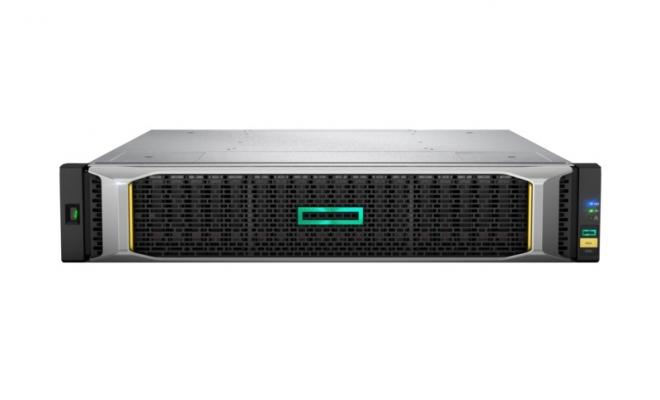 HPE MSA 1050 SAN 存储 包含LFF 3.5英寸磁盘机箱+2个MSA 1050 2端口1GbE iSCSI控制器(含1GB SFP模块)