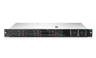 HPE DL20 Gen10服务器(至强E-2224 CPU,8GB内存,1T硬盘,集成RAID卡,2*GE,单电源,滑轨) 2LFF