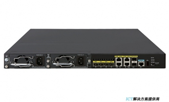 H3C MSR3620路由器 千兆综合业务网关(4GE Combo+2SFP,支持双电源,1U)