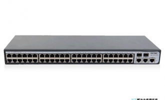 H3C S3110-52TP-SI交换机 以太网交换机主机(48FE+2GE+2SFP,交流供电)