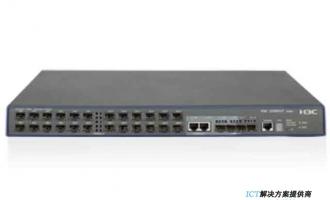 H3C S3600V2-28F-EI交换机 以太网交换机主机(24*100FX+4SFP+2GE combo),交直流双路供电