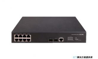 H3C S5120V2-10P-LI交换机 L2以太网交换机主机,支持8个10/100/1000BASE-T电口,支持2个1000BASE-X SFP端口,支持AC