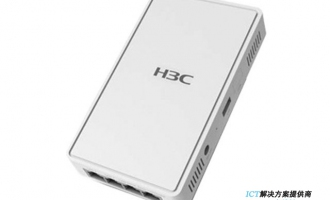 H3C WA4320H-FIT无线AP 内置天线双频四流802.11ac/n Wave 2面板型无线接入点-FIT 室内AP