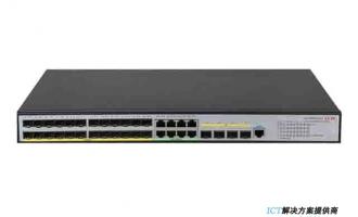 H3C S5500V3-36F-SI交换机  L3以太网交换机主机,支持24个1000BASE-X SFP端口,支持8个10/100/1000BASE-T电口,支持4个1G/10G BASE-X SFP Plus端口,支持AC