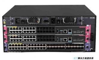 H3C S7003X交换机 S7003X交换路由引擎模块 ,24端口千兆以太网电接口(RJ45)+4端口万兆以太网光接口(SFP+,LC)(SC)