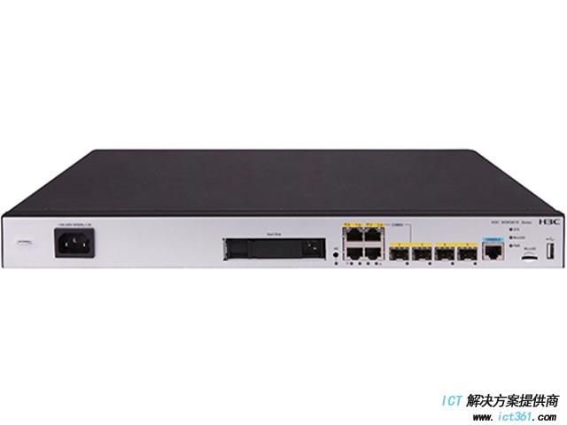 H3C MSR3610-X1路由器(4GE(2Combo)+2SFP,支持HD)千兆综合业务网关