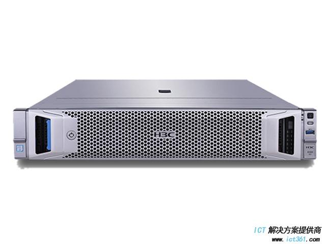 H3C R2900G3服务器(铜牌3106 CPU,16GB DDR4内存,板载控制器,4*GE,1*550W电源,无DVD,滑轨,8LFF) 机架式服务器
