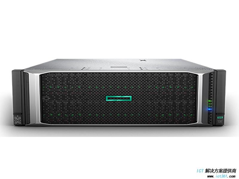 HPE DL580 Gen10服务器(两颗金牌5118 CPU,32GB DDR4内存,P408i-P,4*GE,2*1600W电源,无DVD,滑轨,8SFF)