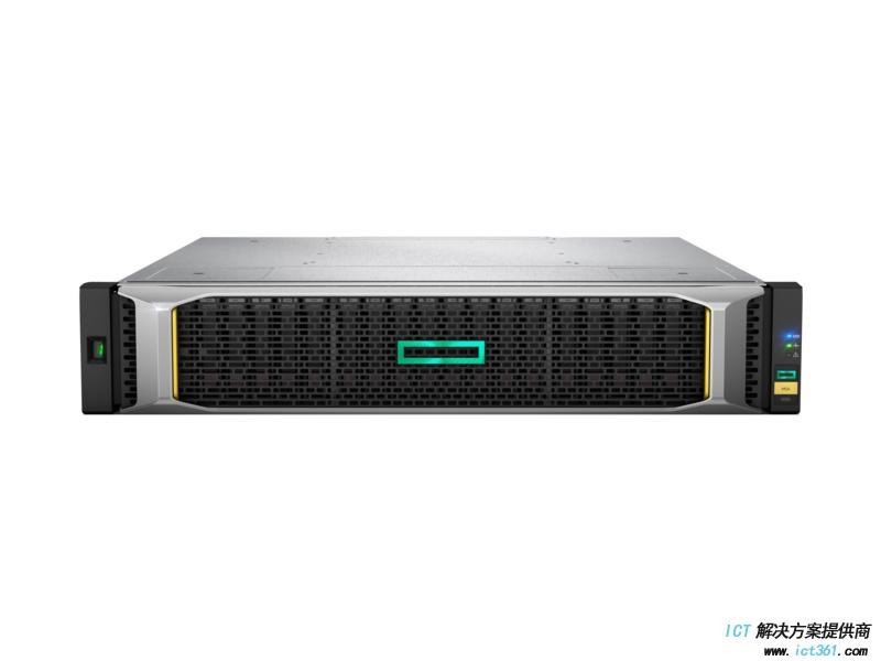 HPE MSA 1050 SAN 存储 24 SFF 2.5英寸小盘机箱, 2个 MSA 1050 2口 SAS控制器,无SFP光模块, 无硬盘